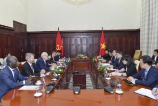 Thống đốc NHNN tiếp Tổng Giám đốc Công ty Tài chính Quốc tế (IFC)