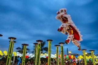 """Nghỉ lễ 2/9: Về Đà Nẵng xem Lễ hội Lân sư rồng quốc tế, gặp """"anh Bo"""" Đan Trường, Isaac"""