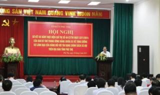 Phú Thọ: Sự vào cuộc của cả hệ thống chính trị đối với tín dụng chính sách xã hội