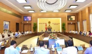 Phiên họp thứ 47 của UBTVQH khai mạc vào ngày 10/8