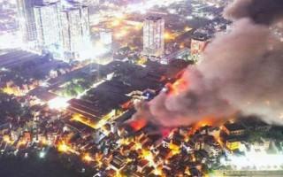 Thủ tướng chỉ đạo xử lý hậu quả vụ cháy Rạng Đông