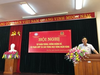 NHNN Phú Thọ tổ chức các lớp tập huấn kiến thức phòng, chống khủng bố, cướp ngân hàng