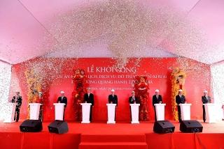 Vingroup khởi công Khu du lịch, dịch vụ, đô thị ven biển Quang Hanh