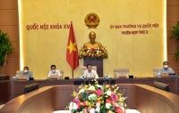 Trình Quốc hội cho ý kiến về đề nghị tổ chức phiên tòa trực tuyến tại kỳ họp thứ hai