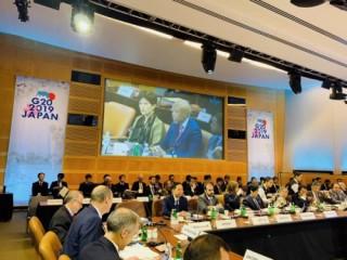 Phó Thống đốc Đào Minh Tú dự Hội nghị Bộ trưởng Tài chính và Thống đốc NHTW G20 năm 2019