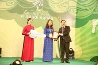 """Ngân hàng Hợp tác xã Việt Nam tham gia ủng hộ Chương trình """"Cả nước chung tay vì người nghèo"""""""