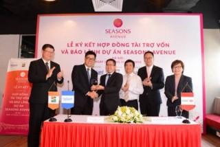CapitaLand và HSBC ký tài trợ vốn và bảo lãnh cho Seasons Avenue