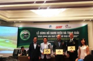 """""""Sân Golf mới tốt nhất Việt Nam"""" được trao cho Bà Nà Hills Golf Club"""