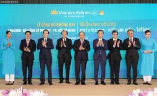 Thủ tướng dự khai trương đường bay mới nối Việt Nam, Thái Lan