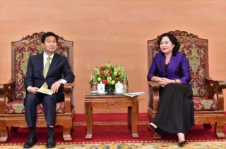 Phó Thống đốc Nguyễn Thị Hồng tiếp và làm việc với Giám đốc Điều hành ADB
