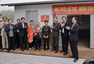 Phó Thống đốc Đào Minh Tú tham gia đoàn công tác của Bộ trưởng Bộ Công an tại Điện Biên