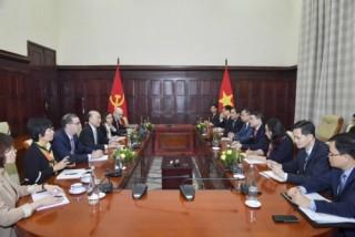 Thống đốc NHNN Lê Minh Hưng tiếp Phó Tổng Giám đốc IMF