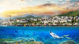 Kinh doanh đắc lợi với shophouse mặt biển duy nhất ở Nam Phú Quốc