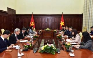 Thống đốc NHNN Lê Minh Hưng tiếp và làm việc với Tổng Thư ký ASEAN