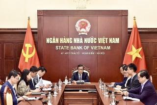 Phó Thống đốc Nguyễn Kim Anh tham dự Hội nghị trực tuyến Hội đồng Thống đốc SEACEN lần thứ 40
