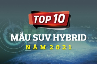 [Infographic] Top 10 mẫu suv hybrid năm 2021