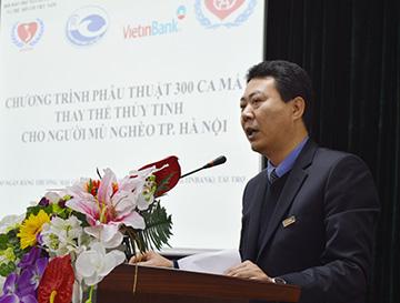 VietinBank tài trợ 300 ca phẫu thuật thay thể thủy tinh cho người mù nghèo