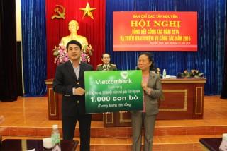 Vietcombank với an sinh xã hội tại khu vực Tây Nguyên