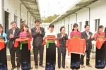 Vietcombank tặng nhà ở nội trú và học bổng cho học sinh Trường THCS Mường Lý (Thanh Hóa)