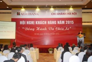 Agribank Hà Nội chia sẻ và đồng hành với khách hàng