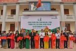 Vietcombank trao tặng công trình nhà học 2 tầng trường THCS cho xã Yên Thắng (Yên Mô - Ninh Bình)