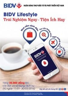 Cập nhật thông tin BIDV dễ dàng hơn với BIDV Lifestyle