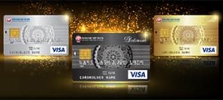 SCB ưu đãi chủ thẻ tín dụng SCB Visa