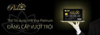 SHB phát hành thẻ cao cấp cho khách hàng VIP