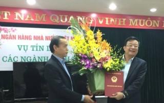 Ông Nguyễn Quốc Hùng được bổ nhiệm Vụ trưởng Vụ Tín dụng các ngành kinh tế