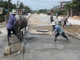 Các địa phương không được có nợ đọng xây dựng cơ bản trong xây dựng NTM