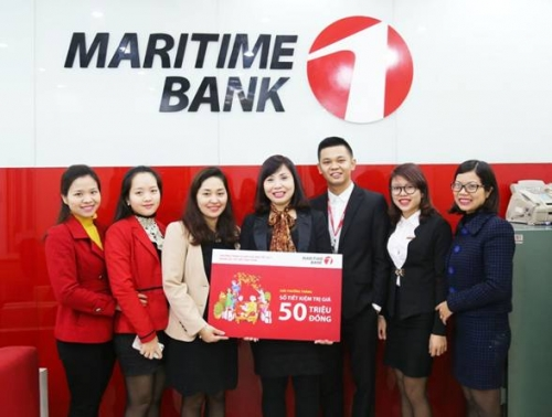 Lộc Tết từ Maritime Bank