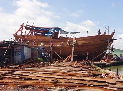 Tiền Giang: Nghị định 67 trong khai thác hải sản phát huy hiệu quả