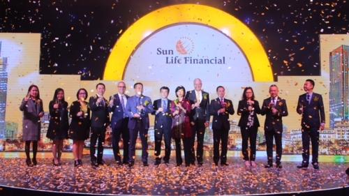 Ra mắt thương hiệu bảo hiểm Sun Life Việt Nam
