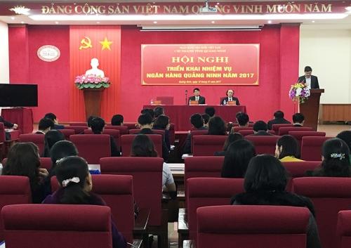 Ngành Ngân hàng Quảng Ninh triển khai nhiệm vụ năm 2017