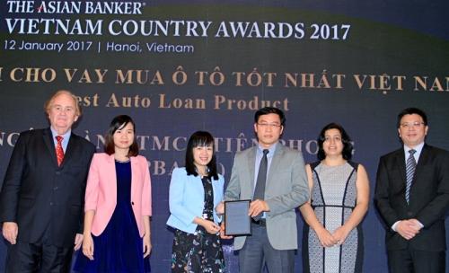Sản phẩm cho vay mua ô tô của TPBank được đánh giá cao