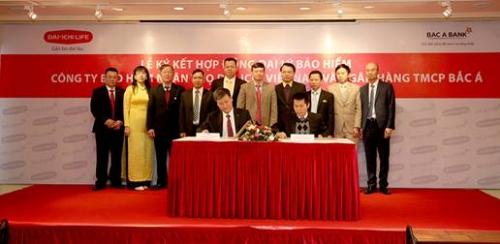 BAC A BANK ký kết hợp tác chiến lược với Dai-ichi Life Việt Nam