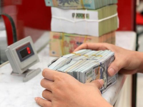 Tỷ giá trung tâm giảm nhẹ, giá USD ngân hàng đi ngang