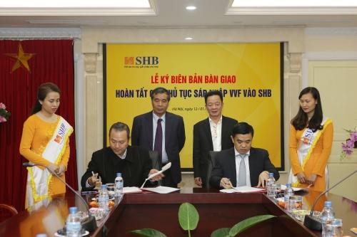 VVF chính thức sáp nhập vào SHB
