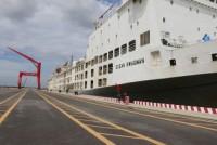 Cảng quốc tế Long An đón chuyến tàu thử nghiệm đầu tiên trong năm 2017