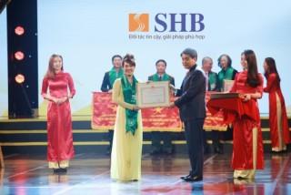 SHB được vinh danh có thành tích xuất sắc trong hoạt động kinh doanh