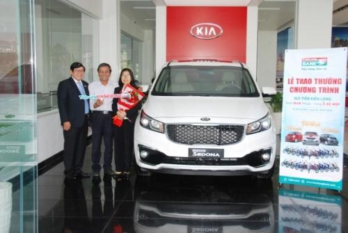 Kienlongbank: Giải đặc biệt CTKM là xe Kia Sedona đã có chủ