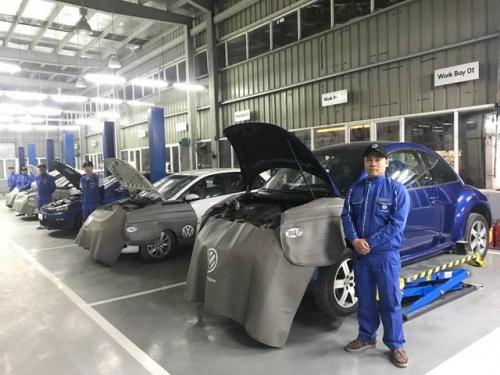 Volkswagen Việt Nam giới thiệu đại lý đạt chuẩn 4S toàn cầu