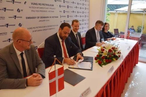 Tập đoàn Đan Mạch bắt tay Dầu khí Vũng Rô xây dựng nhà máy chế phẩm dầu mỏ
