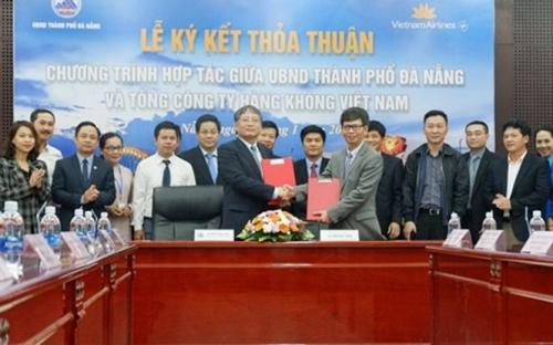 Vietnam Airlines sẽ là đối tác chiến lược của Đà Nẵng