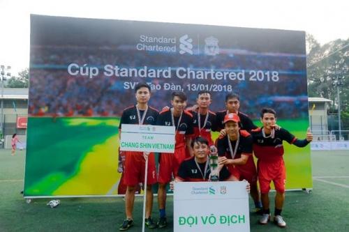 Cúp Standard Chatered 2018 tìm ra đội vô địch đi Anfield