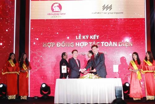 SHB hợp tác toàn diện với Kim Long Nam Group