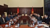 Hợp tác, chia sẻ kinh nghiệm giữa NHTW hai nước Việt Nam - Haïti