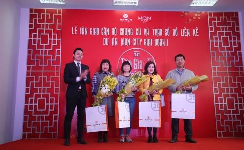 Chính thức bàn giao căn hộ chung cư dự án Mon City giai đoạn 1