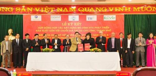BAC A BANK ký biên bản ghi nhớ với Liên minh Hợp tác xã Việt Nam