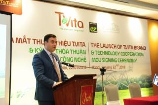T&T chính thức ra mắt thương hiệu nông nghiệp T.Vita